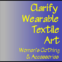 Clarify Wearable Textile Art